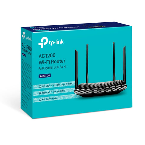 Archer C6 AC1200 Wireless MU-MIMO Dual Band Gigabit Router