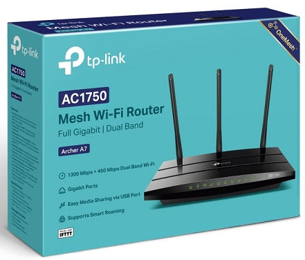 Archer A7 AC1750 Wireless Dual Band Gigabit Router