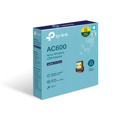 Archer T2U Nano AC600 Nano Wireless USB Adapter