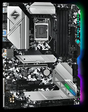 B460 Steel Legend Intel 10th Gen Socket 1200 ATX Motherboard