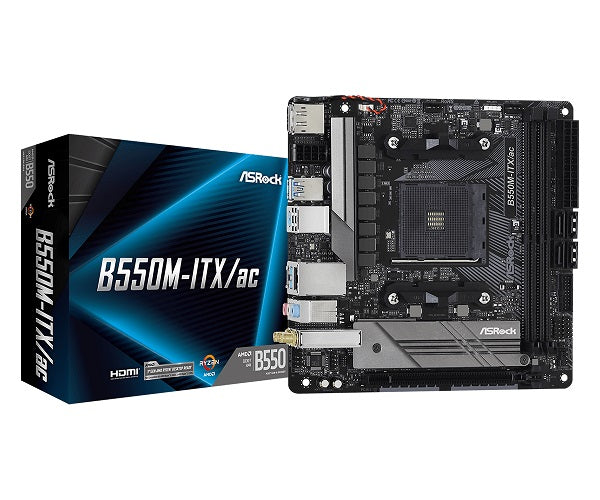 B550M ITX/AC AMD Socket AM4 mITX Motherboard