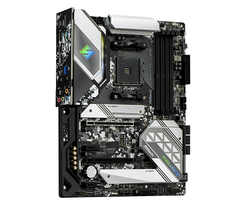 B550 Steel Legend AMD Socket AM4 ATX Motherboard