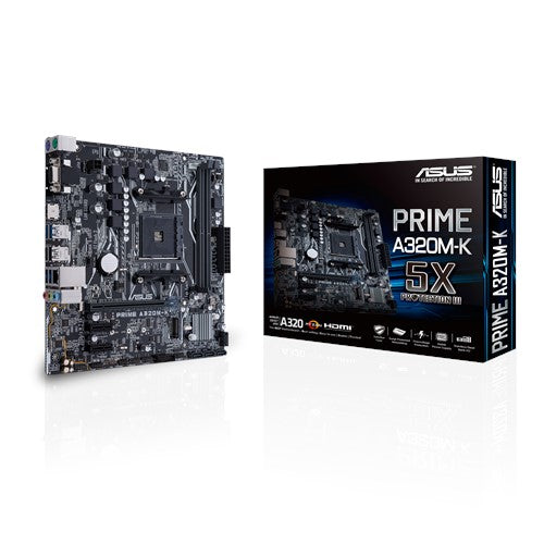 Prime A320M-K AMD Socket AM4 mATX Motherboard
