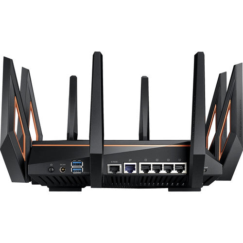 ROG Rapture GT-AX11000 AX11000 Tri-Band WiFi 6 Gaming Router | 10 Gigabit WiFi Router with a Quad-Core CPU