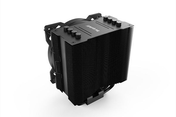 Pure Rock 2 (BK007) CPU Air Cooler w/4*6mm Heatpipes & Pure Wings 12cm*1 Fan - BLACK