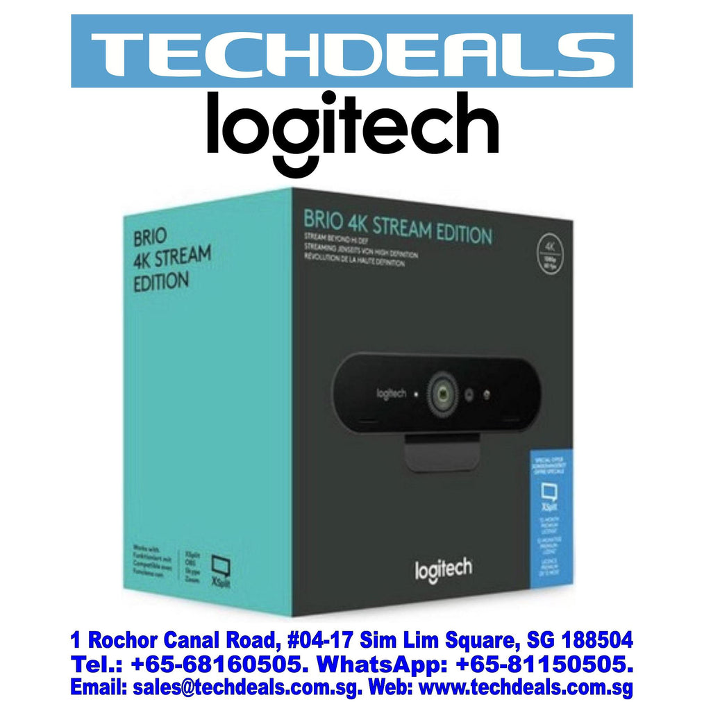 LOGITECH BRIO 4K ULTRA HD WEBCAM [OEM PACK] (3Y)