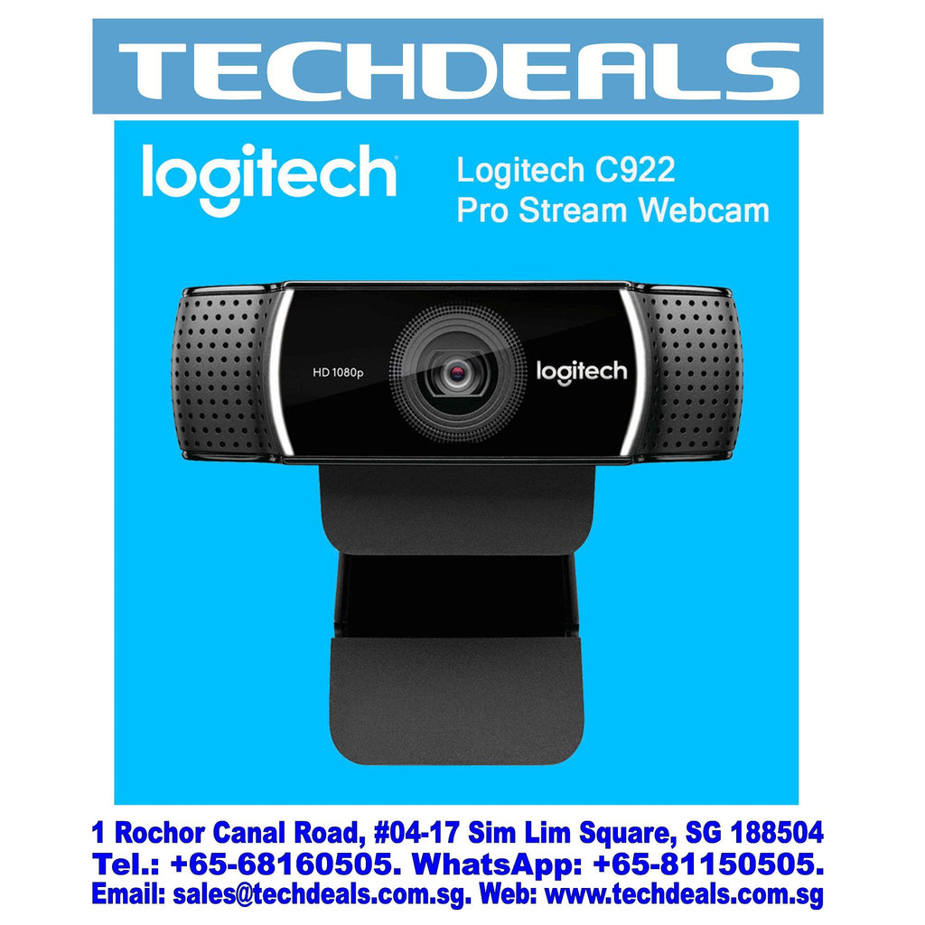 LOGITECH C922 PRO STREAM FULL HD WEBCAM (1Y)