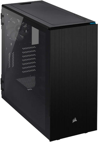 Carbide Series 678C Low Noise Tempered Glass ATX Case - Black