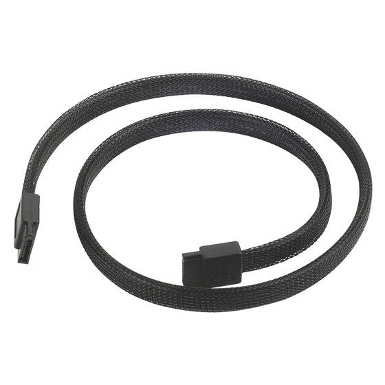 SILVERSTONE SATA III CABLE, 500MM, 180 degree