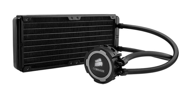 Corsair Hydro Series Cooling H105 Performance Liquid CPU Cooler