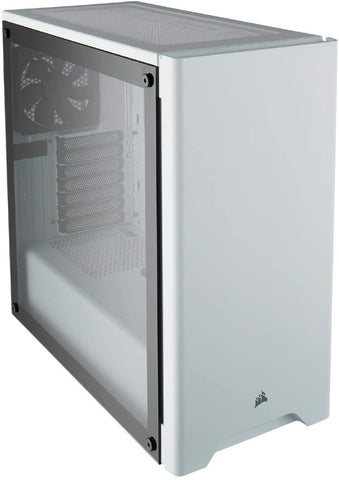 Carbide Series 275R Mid-Tower Gaming Case — White Tempered Glass