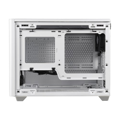 NR200 SFF Small Form Factor mITX Case with Vented Panel | Black | White