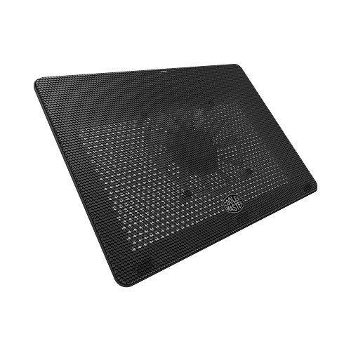 "NotePal L2 Light Weight Notebook Laptop Cooler with Silent 160mm Blue LED Fan | Supports up to 17"" laptops"