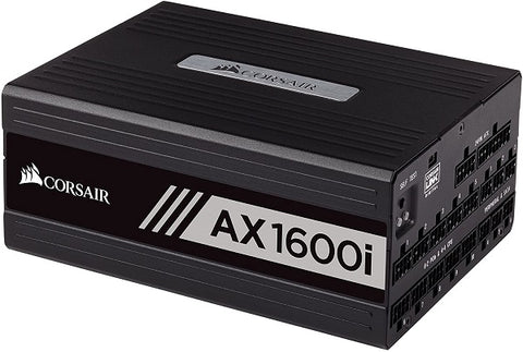 AX1600i Digital ATX 80+ Titanium Power Supply - 1600 Watt Fully-Modular PSU (UK)