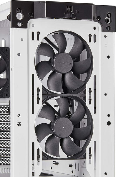 Carbide Series 275R Airflow Mid-Tower Gaming Case, White  ( Tempered Glass )