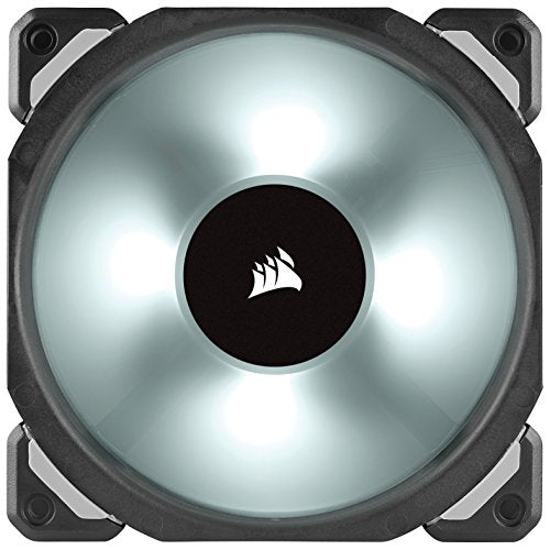 ML140 PRO RGB LED 140MM PWM Premium Magnetic Levitation Fan — 2 Fan Pack with Lighting Node PRO