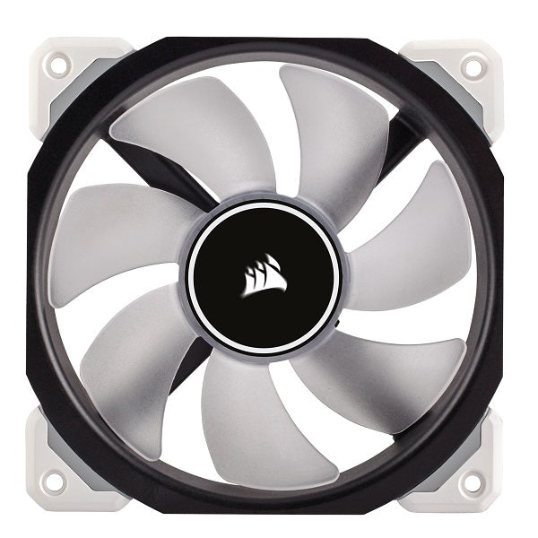ML120 Pro, 120mm Premium Magnetic Levitation Cooling Fan | White | Red | Blue LED