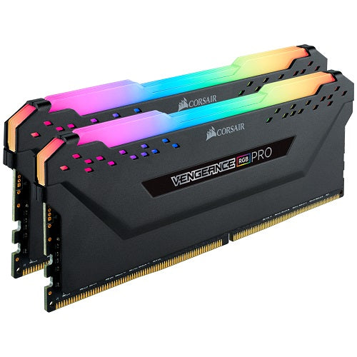 Corsair VENGEANCE RGB PRO 16GB (2 x 8GB) DDR4 DRAM 3600MHz C18 AMD Ryzen Kit - Black