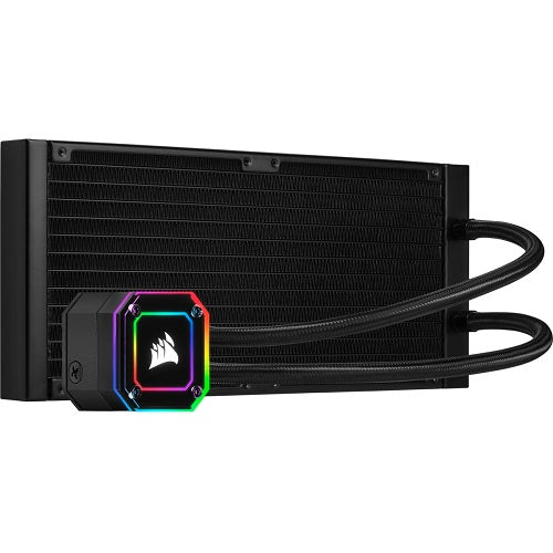 iCUE H115i ELITE CAPELLIX Liquid CPU Cooler | 280mm Radiator | 2*ML140 RGB PWM Fans | RGB Pump Head