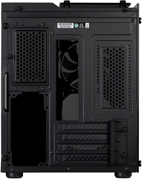 Crystal Series 280X Tempered Glass Micro ATX Case — Black