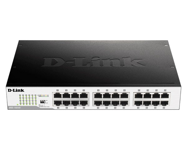 Gigabit Unmanaged Desktop/Rackmount Metal Switch | 24-Port | DGS-1024D
