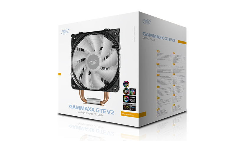 GAMMAXX GTE V2 CPU Air Cooler - RGB