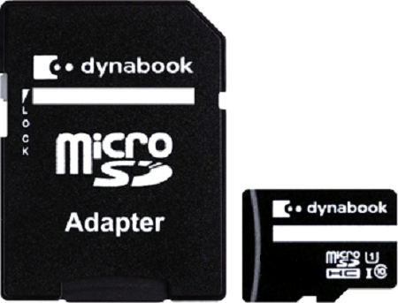 MicroSDHC/SDXC Card 80MB/s with SD Adapter