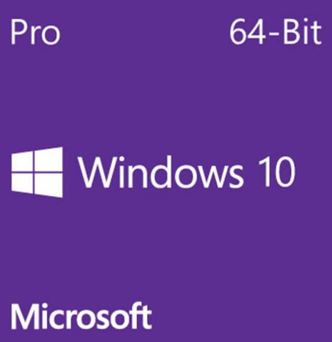 MicroSoft Windows 10 Pro 64Bit English DVD OEI OS