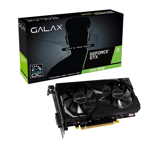 GTX 1650 Super EX (1-Click OC) 4GB GDDR6 Graphic Card