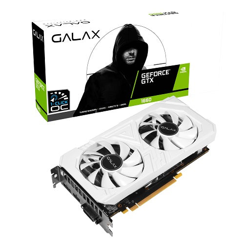 GTX 1660 Super EX White 1-Click OC 6GB GDDR6 Graphic Card