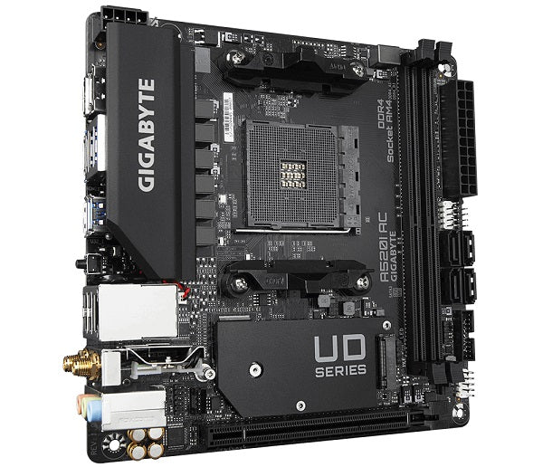 A520i AC 3rd Gen AMD Socket AM4 mITX Motherboard