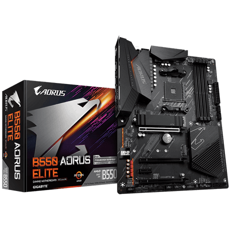 B550 AORUS ELITE AMD Socket AM4 ATX Motherboard