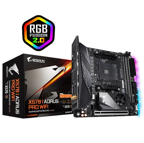 X570 I AORUS PRO WIFI AMD Socket AM4 mITX Motherboard