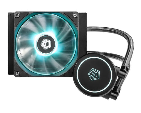 Auraflow X 120 CPU AIO Liquid Cooler 120mm Radiator, RGB XL Pump and 12cm Fan