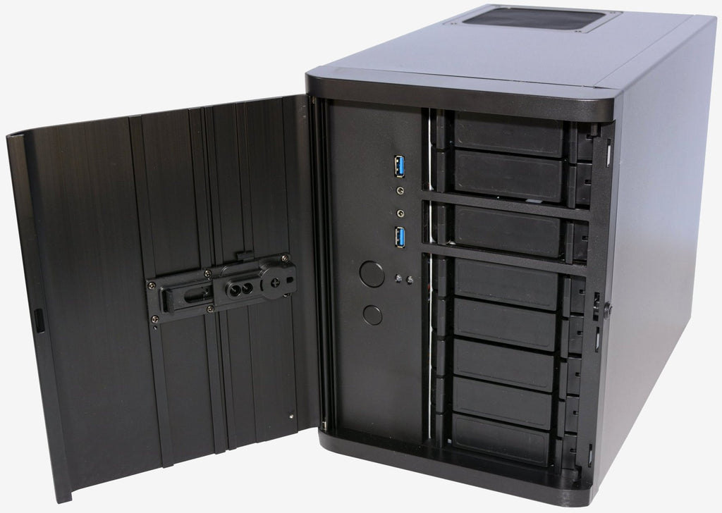 SilverStone SST-DS380B Premium 8 Bay Small Form Factor NAS Chassis