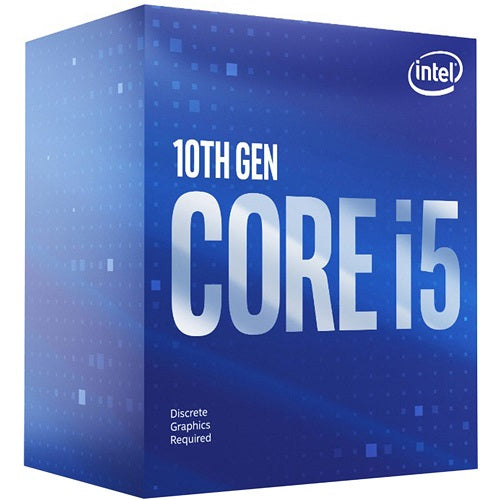 Core i5-10400F 6 Core, 12M Cache, up to 4.30 GHz Socket 1200 Processor [Graphics Card Required]