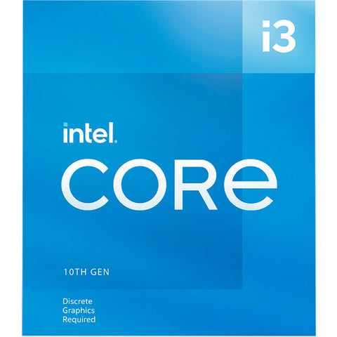 Core™ i3-10105F 6M Cache, up to 4.40 GHz Socket 1200 10th Gen Processor (No Onboard Graphics Support)