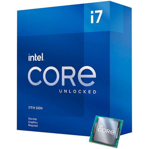 Core™ i7-11700KF 16M Cache, up to 5.00 GHz Socket 1200 11th Gen Processor (No Cooling Fan)