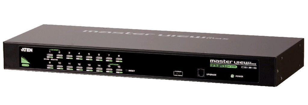 "Aten CS1316 Economical 16-port Multi-platform KVM with OSD, 19"" RMK, Power adaptor"