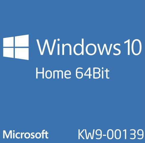 MicroSoft Windows 10 Home 64Bit English DVD OEI OS