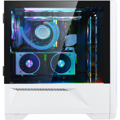 LANCOOL II E-ATX Case with Dual Tempered Glass and RGB  | Black | White