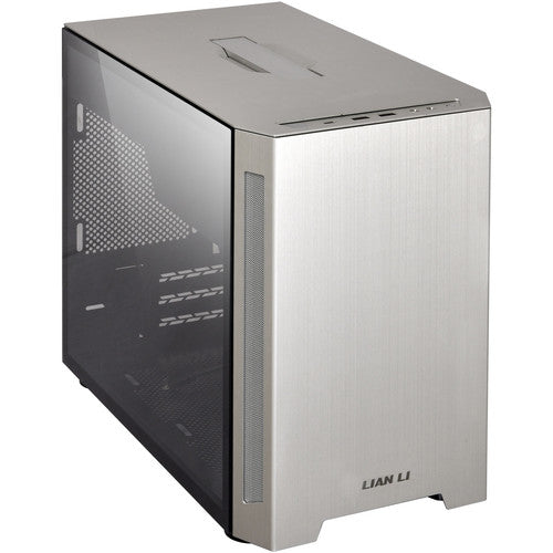 TU150 Portable m-ITX Case with Tempered Glass Side Panel  |  Black | Silver
