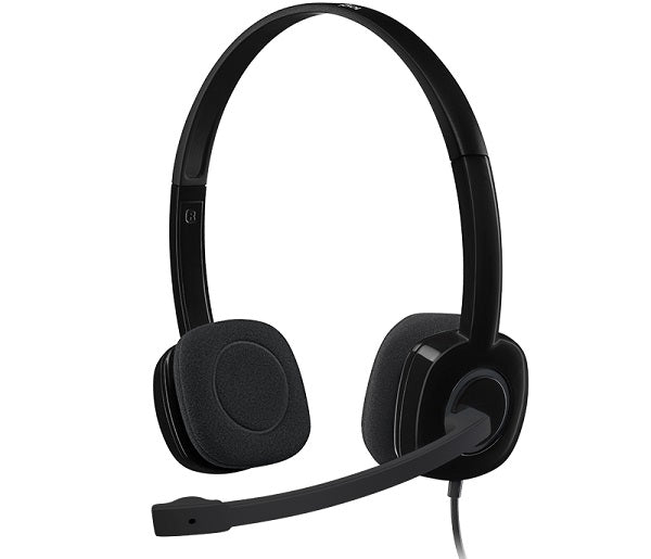 Logitech H151 Multi-Device Stereo Headset with In-Line Controls