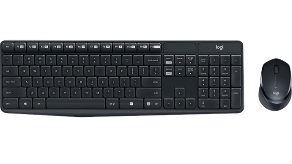 MK315 Silent Wireless Keyboard & Mouse Combo