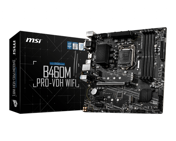 B460M Pro-VDH WiFi Intel 10th Gen Socket 1200 mATX Motherboard