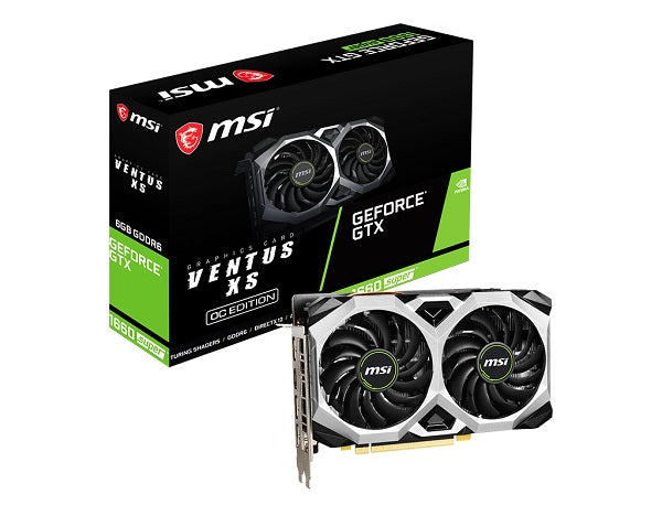GTX 1660 SUPER VENTUS XS OC 6GB DDR6 1815 Mhz Graphic Card