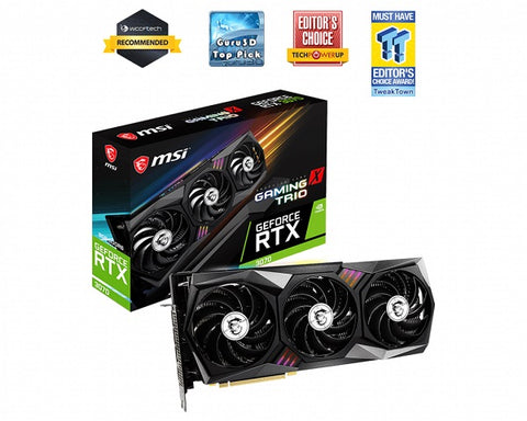 GeForce RTX 3070 GAMING X TRIO 8GB GDDR6 Graphics Card | For purchase with full PC