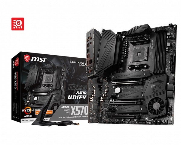 MEG X570 UNIFY AMD Socket AM4 ATX Motherboard