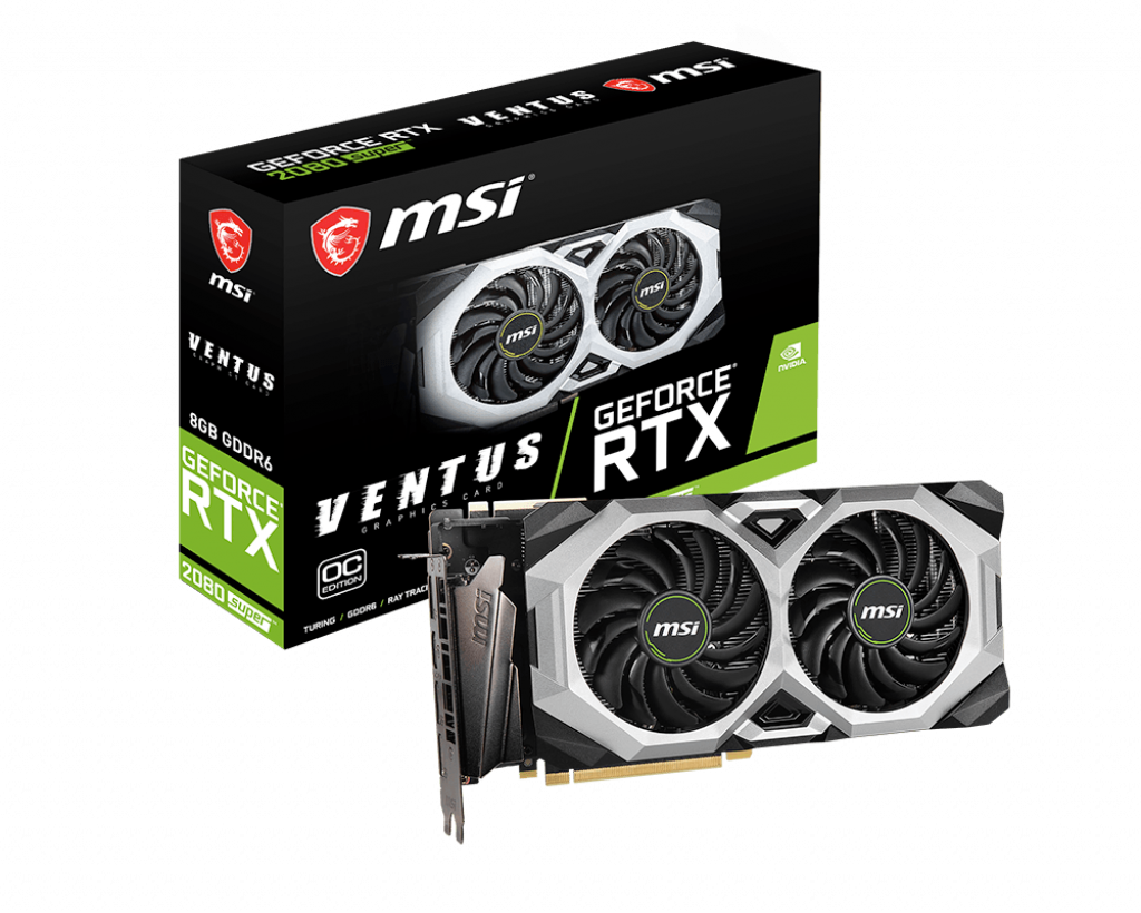 MSI RTX 2080 Super Ventus XS OC Graphics card