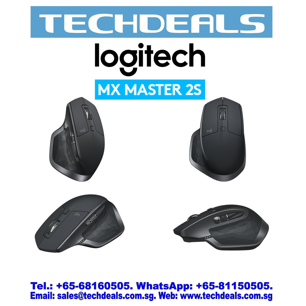 LOGITECH MX MASTER 2S WIRELESS MOUSE (1Y)